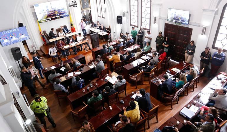 presupuesto para Bogotá en 2018: Aprobado en primer debate el presupuesto de Bogotá por $20 billones para el 2018