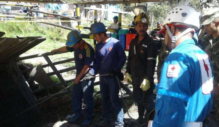 Derrumbe en una mina de carbón cobró la vida de un trabajador en Boyacá: Derrumbe en una mina de carbón cobró la vida de un trabajador en Boyacá