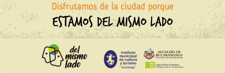 Campaña Del Mismo Lado Espacio Público Bucaramanga: 'Del mismo lado' por la cultura urbana