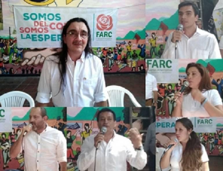 Política Campaña FARC Candidatos Santander: Las FARC inscriben candidatos a la Cámara en Santander