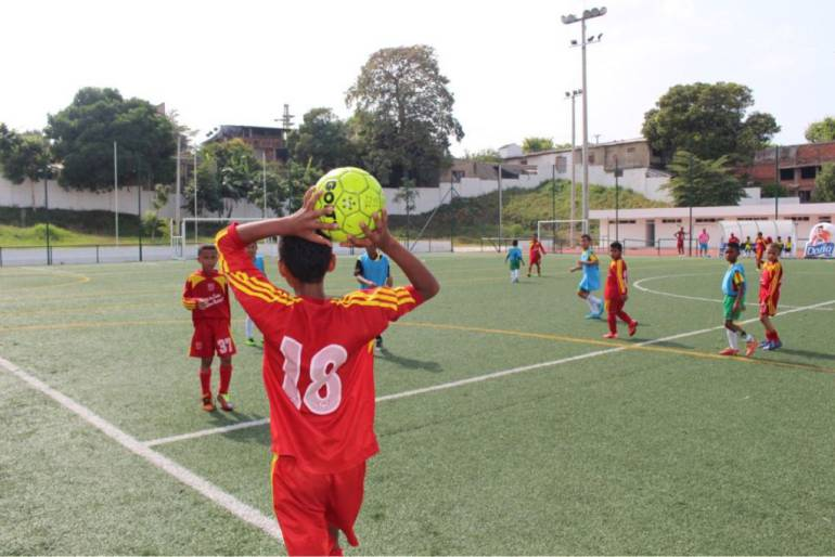Se lanzó el IV Mundialito Cartagena de Indias de fútbol menor: Se lanzó el IV Mundialito Cartagena de Indias de fútbol menor