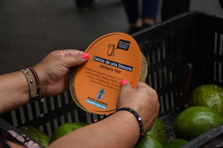 Alcaldía inicia campaña contra la entrega de limosna a habitantes de calle