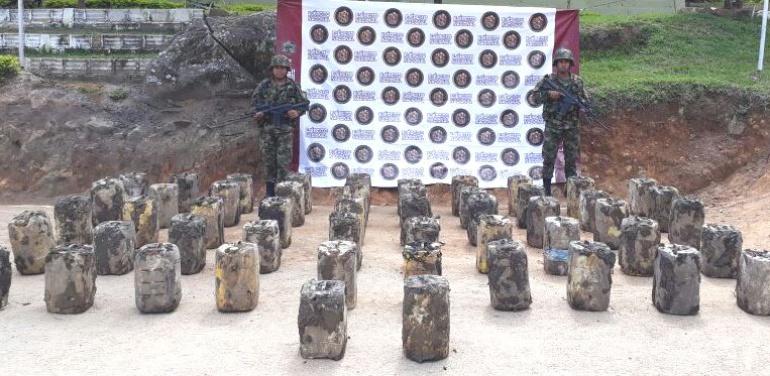 Caletas de las Farc: Descubren en el Huila poderosa caleta con explosivos que perteneció a las Farc