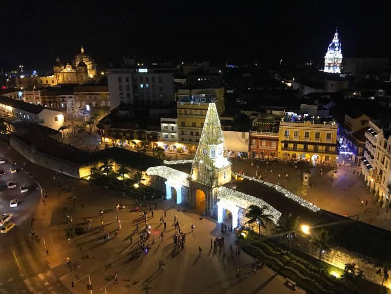 Cartagena se ilumina con la luz de la esperanza: Cartagena se ilumina con la luz de la esperanza