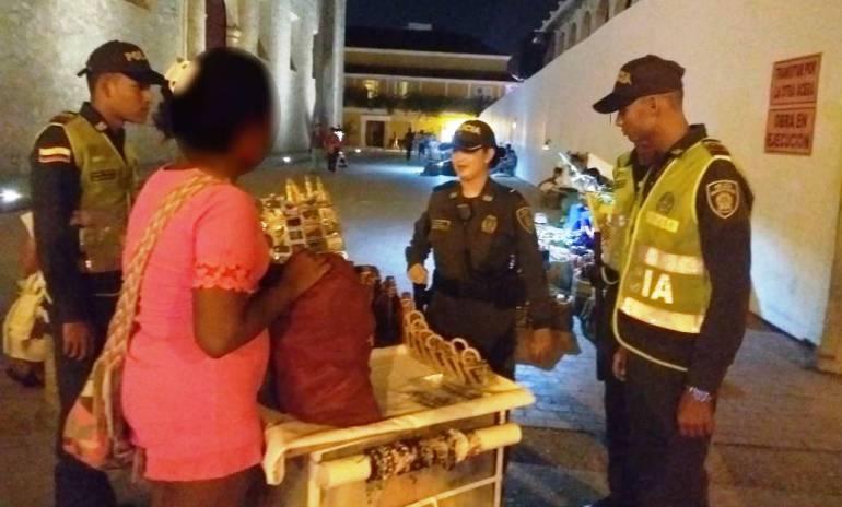 Policía de Cartagena realiza planes de registro en el Centro Histórico y zona turística: Policía de Cartagena realiza planes de registro en el Centro Histórico y zona turística