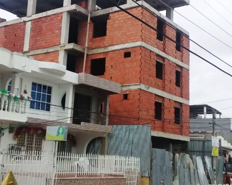 Fue sellada construcción que dejó tres niños heridos en Cartagena: Fue sellada construcción que dejó tres niños heridos en Cartagena
