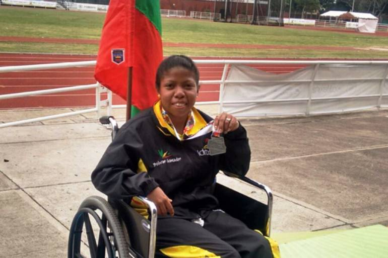 Fallece Yeliza Medrano, deportista paralímpica de Bolívar: Fallece Yeliza Medrano, deportista paralímpica de Bolívar