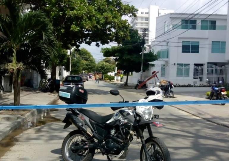 Emergencia por rotura de tubo de gas natural en Cartagena: Emergencia por rotura de tubo de gas natural en Cartagena