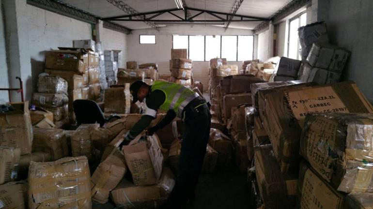Desarticuladas 5 bandas dedicas a contrabando de zapatos en Urabá