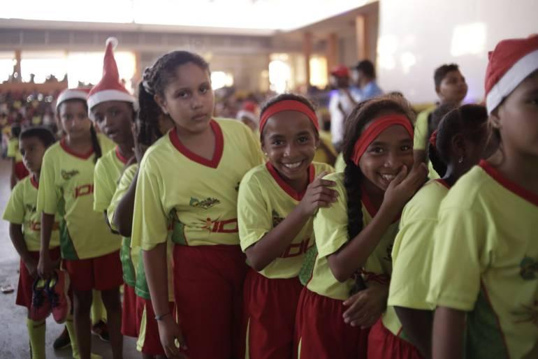 Escuela deportiva del Distrito de Cartagena clausura actividades en 2017: Escuela deportiva del Distrito de Cartagena clausura actividades en 2017