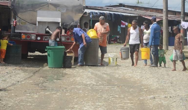 Presidente Santos en Buenaventura: Juan Manuel Santos entrega obras de acueducto en el Puerto