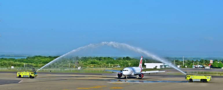 Air Canadá inauguró nuevo vuelo de temporada hacia Cartagena: Air Canadá inauguró nuevo vuelo de temporada hacia Cartagena