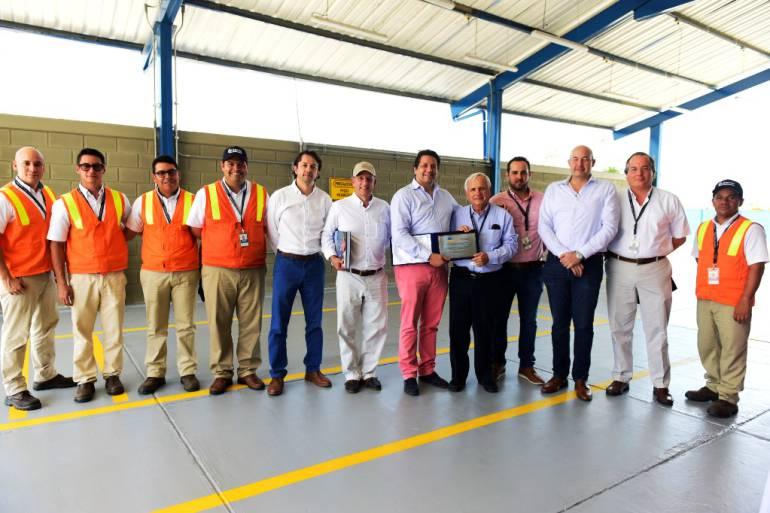 Inaugurado patio Renault en Contecar en puerto de Cartagena: Inaugurado patio Renault en Contecar en puerto de Cartagena