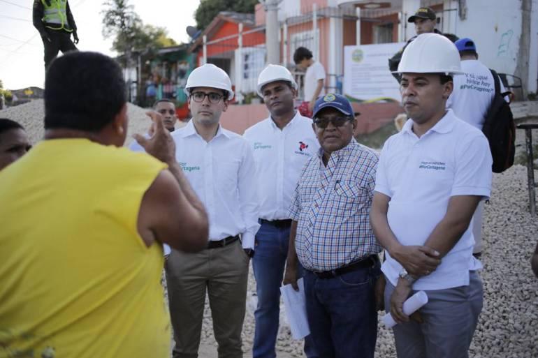 Continúan jornadas de inspección en obras contratadas por la Alcaldía de Cartagena: Continúan jornadas de inspección en obras contratadas por la Alcaldía de Cartagena