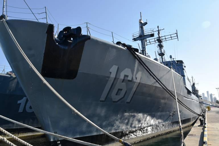 """Armada Nacional despide al buque ARC """"Cartagena de Indias"""": Armada Nacional despide al buque ARC """"Cartagena de Indias"""""""