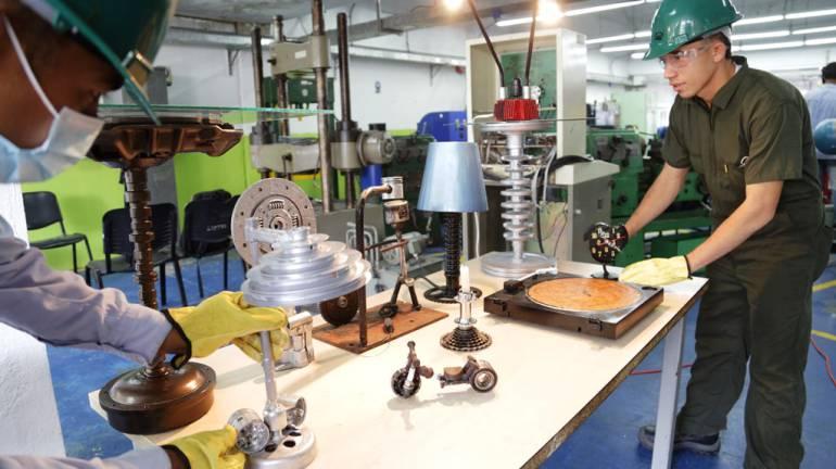 300 aprendices del SENA en Bolívar participan en proyecto para reutilizar elementos desechados: 300 aprendices del SENA en Bolívar participan en proyecto para reutilizar elementos desechados