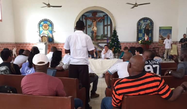 FIscal Nestor Humberto Martínez se reunió con líderes sociales en Quibdó ante las alarmantes cifras de aumento de violencia en la zona