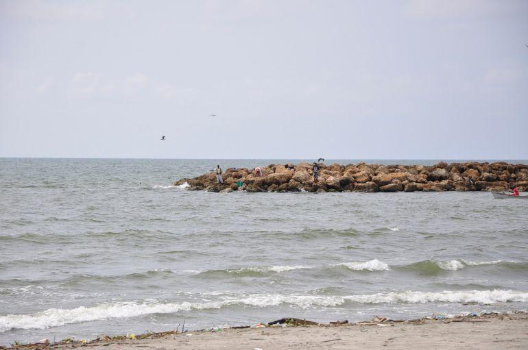 Refuerzan seguridad en las playas del Atlántico por fuertes vientos: Por fuertes vientos refuerzan seguridad en las playas del Atlántico