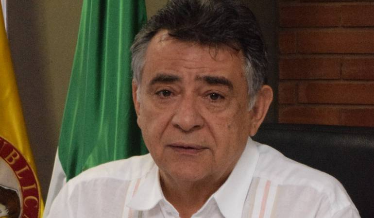 El gobernador de Sucre dice que Fiscalía que lo acusa por concierto para delinquir no es competente para investigarlo
