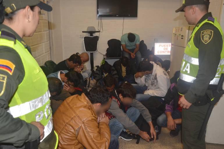 INMIGRANTES EN MEDELLÍN: Unos 17 inmigrantes fueron encontrados en Medellín sin documentos