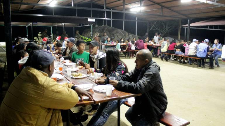 EXCOMBATIENTES FARC ANTIOQUIA PAZ: Excombatientes de las Farc en Antioquia, celebraron su primera Navidad en paz