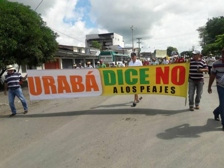 Gobernador anuncia sanciones a quienes paralicen Urabá