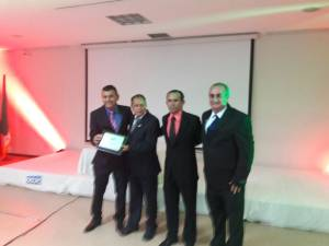 Reconocimiento al equipo de fútbol de la Universidad del Quindío