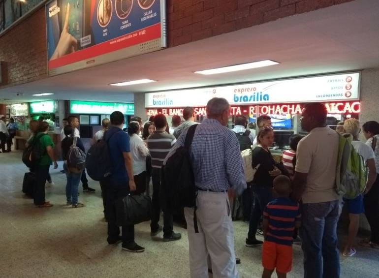 Más de 50.000 viajeros se movilizan por las terminales de Barranquilla