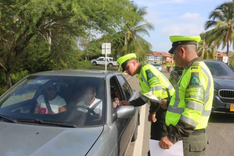 Incrementan controles viales en carreteras de Bolívar: Incrementan controles viales en carreteras de Bolívar