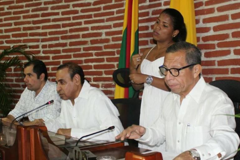 Concejo de Cartagena clausura periodo de sesiones extraordinarias: Concejo de Cartagena clausura periodo de sesiones extraordinarias