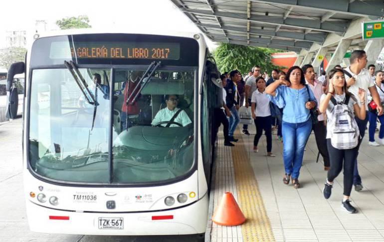 2018 empezó con aumento en pasajes de Transmetro y buses de Barranquilla