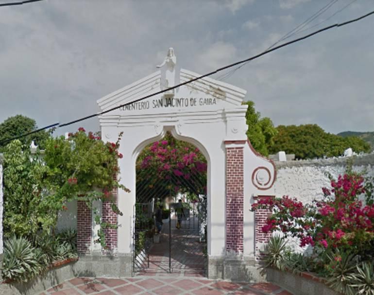 El cementerio San Jacinto de Gaira. /FOTO GOOGLE MAPS