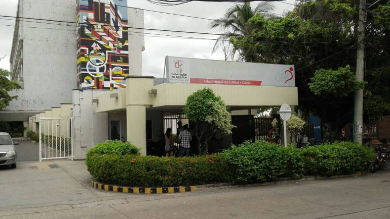 Hospital de Alta Complejidad Cari, donde se encuentra recluida Enilse López.