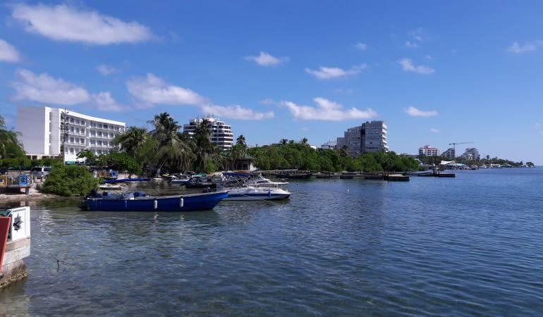 Alerta por fuertes vientos en San Andrés y Providencia