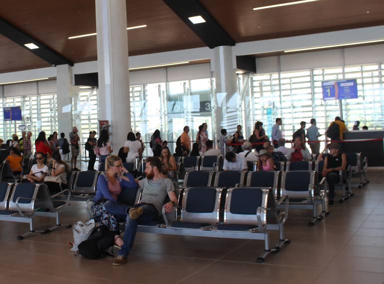 Aeropuerto Simón Bolívar de Santa Marta. /FOTO AEROPUERTOS DE ORIENTE