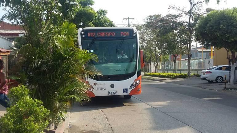 Convocan nuevo plantón y 'día sin Transcaribe' en Cartagena