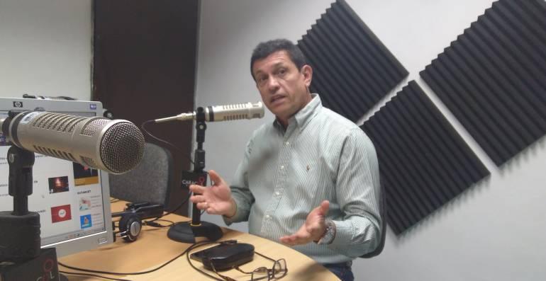 Alberto Girón, gerente del IBAL.