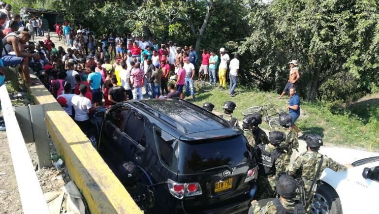 Mueren dos personas tras persecución en límites de Cauca y Valle