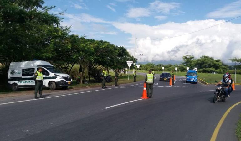 Plan de seguridad vial en el Tolima