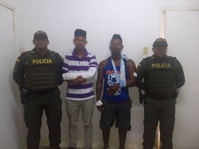 Dos capturados deja hurto a ciclista en Turbaco, Bolívar: Dos capturados deja hurto a ciclista en Turbaco, Bolívar
