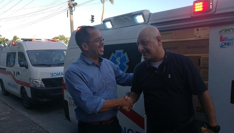 Noticias de San Andrés: Con tres ambulancias fortalecerán sistema de salud en San Andrés