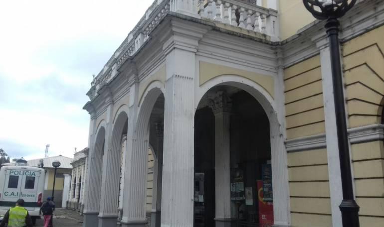 Antigua estación del ferrocarril de Armenia