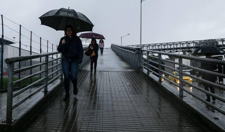 Bogotá lluvias: Fuertes lluvias generan caos en Bogotá