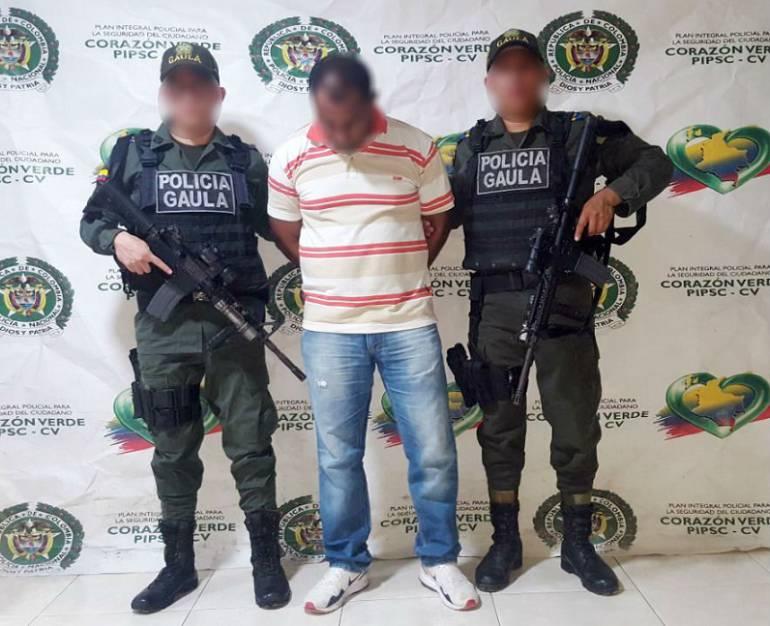 Capturado presunto extorsionista en Cartagena: Capturado presunto extorsionista en Cartagena