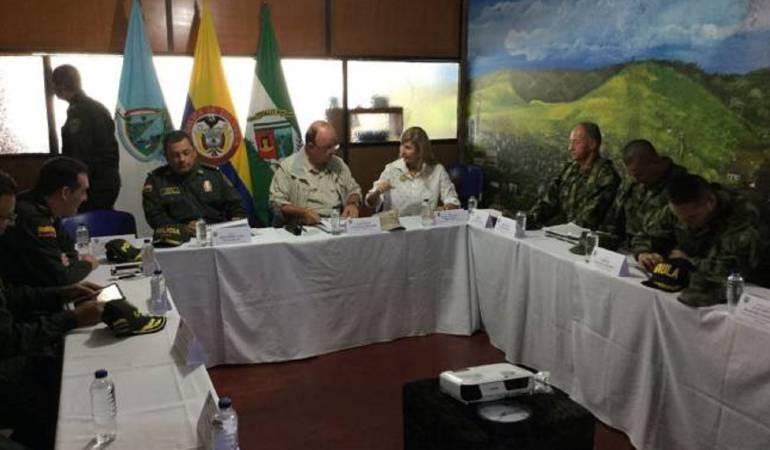 Consejo de Seguridad: Autoridades en Cali definen ofensiva contra el ELN