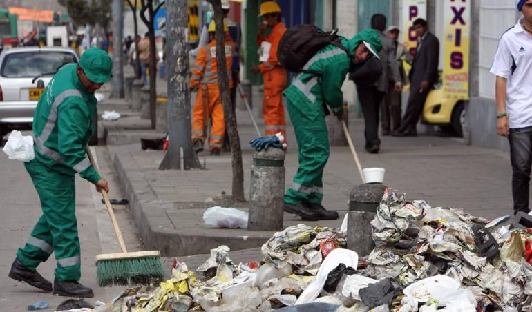 Bogotá nuevo esquema de aseo: En un mes inicia el nuevo esquema de aseo en Bogotá