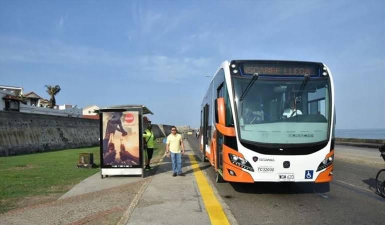 Transcaribe implementaría cambios en las estaciones y las rutas