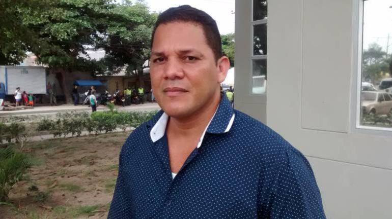 El coordinador de la Mesa de Víctima del Atlántico, Misael Delgado.