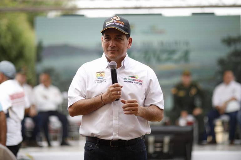 Gobernador de Bolívar pide a Gobierno y ELN no levantarse de la mesa de negociaciones: Gobernador de Bolívar pide a Gobierno y ELN no levantarse de la mesa de negociaciones