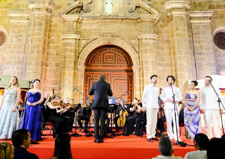 Cartagena disfrutó de la trilogía italiana de Mozart y la ópera: Cartagena disfrutó de la trilogía italiana de Mozart y la ópera